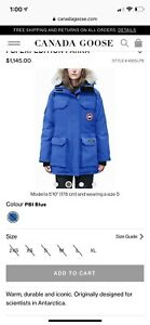Canada goose PBI expedition parka for women  Authentic