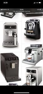 Looking to buy nonworking saeco jura automatic espresso machines