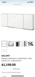 Galant Ikea Disassembled Credenza for Office