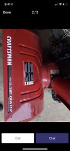 Wanted craftsmen snowblower for parts