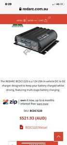 Redarc bcdc 1220 battery charger