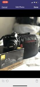 Nikon d5300 mint condition with multiple accessories