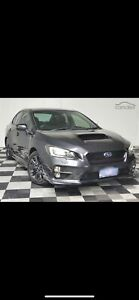 2014 Subaru Wrx Premium (awd) Cvt Auto 8 Speed 4d Sedan