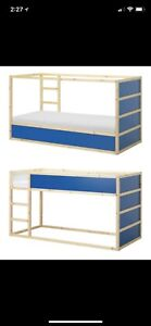 IKEA bunk bed include mattress and canopy