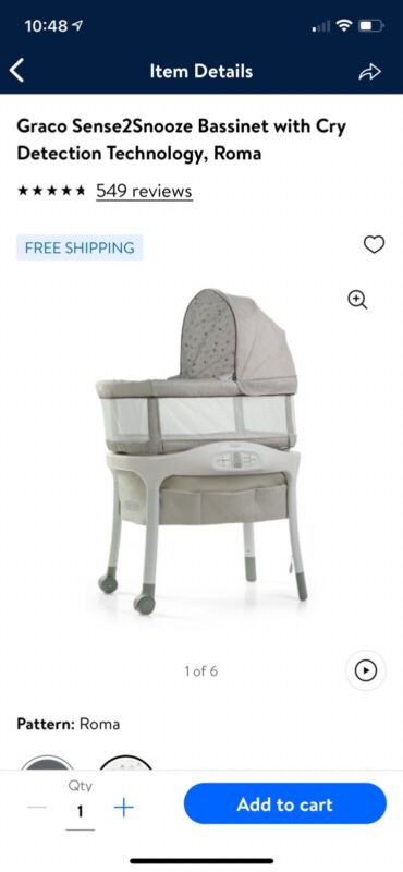 graco sense2soothe with cry detection
