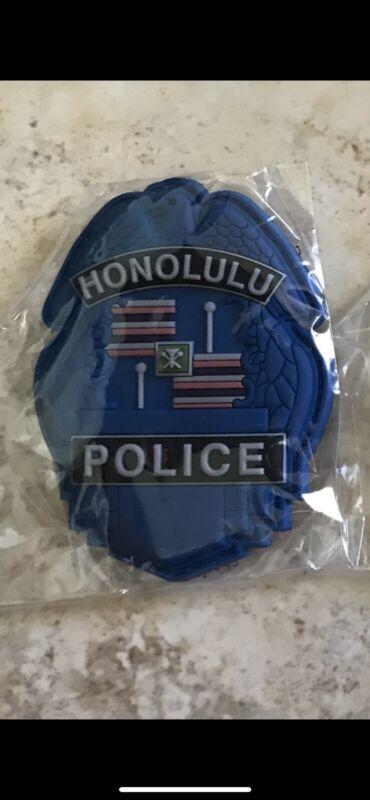 Honolulu Police PVC Patch - Blue