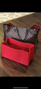 Authentic Louis Vuitton Neverfull GM Damier Ebene With Pouch