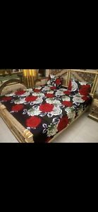 Queen size 3D bed sheets