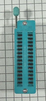 Zif Dip Ic Test Socket 28 Pin 2pcs Per Lot