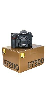 NIKON D7200 DSLR - Low shutter count 1330