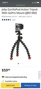 Gorilla Tripod for GoPro