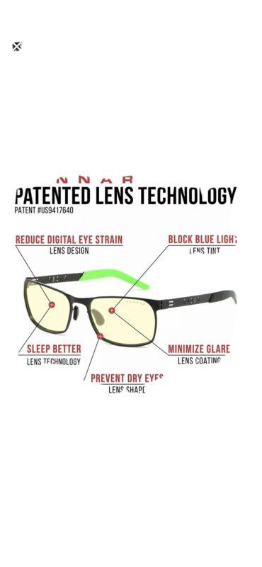 Razer/Onyx by Gunnar Gaming Glasses Blue Light Blocking Protection