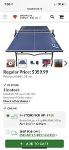 Eastpoint Sports Ping Pong Table (like new condition!)