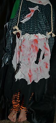 Scary Bloody Dolls Insane Halloween Costume Fits Adults Size M Creepy Murder (Insane Halloween Costume)