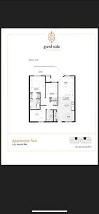 2 Bedroom+den apartment for subleasing