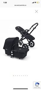 Bugaboo Cameleon 3 - black on Black - with accessories