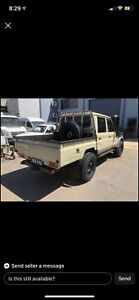 Wanted: Looking for dual cab 79 series wellbody