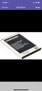Samsung Brand New Battery Available only $10