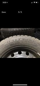 4 winter tires with rims! 215/65/16