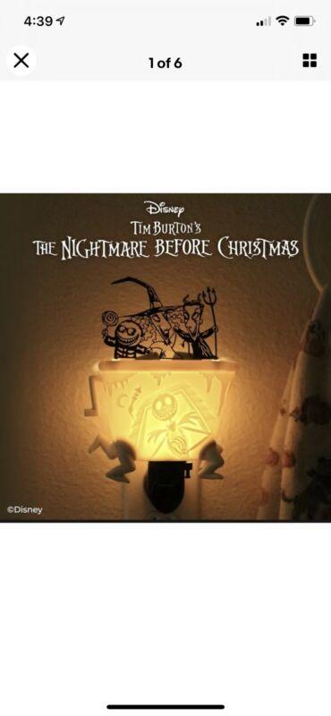Scentsy Disney Nightmare Before Christmas NBC Lock Shock & Barrel Mini warmer