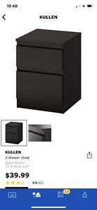 IKEA KULLEN 2 drawer chest
