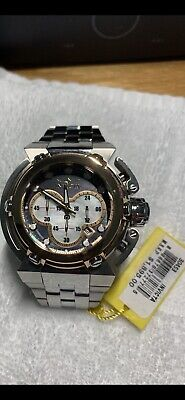 INVICTA 46mm COALITION FORCES X WING QUARTZ CHRONOGRAPH MOTHER OF PEARL DIAL