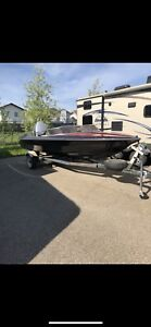 Wicked speedboat 140HP evinrude outboard with trailer ! CHEAP !!