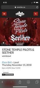 Loge Place Bell Stone Temple Pilots 15 nov 2018