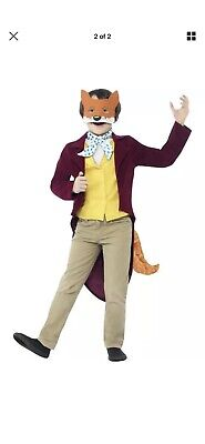 Roald Dahl Fantastic Mr Fox Costume Fancy Dress Teen 12+ Book - Teen Fox Kostüm