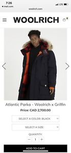 Woolrich Parka Brand New With Tags