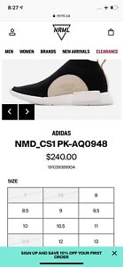 Adidas NMS LUX CS1 DS US 9.5 Steal(Great Gift)