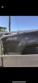 2017 ford ranger xlt tub meteor grey