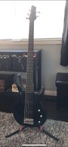 5-String Fender Squire Bass Guitar