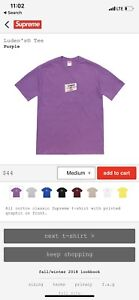 Supreme LUDENS TEE SIZE MED