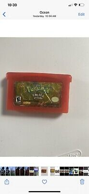 Pokemon: Fire Red Version ( Game Boy Advance, 2004) Authentic Saves