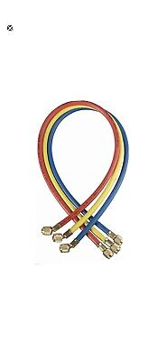 Yellow Jacket 21986 Manifold Hose Set72 Inredyellowblue Hvac Tradesman