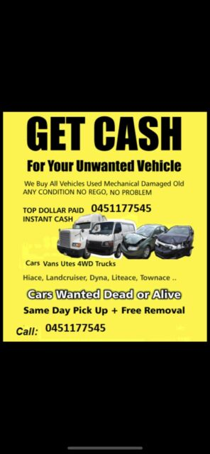 Cash For Cars Sydney Wrecking Gumtree Australia Bankstown Area Bass Hill 1262744567