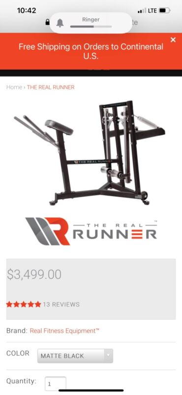 Real Runner Trainer Leg Strength and Quickness Trainer