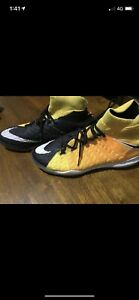 Nike indoor soccer shoes size 8US hyper venom