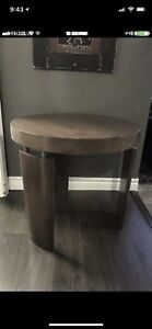 Solid accent table