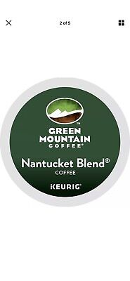 Green Mountain Nantucket Blend Coffee K-Cups 192 count for Keurig 2.0 2 Cases