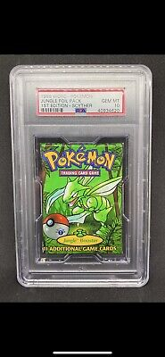 1999 WOTC Pokemon 1st Edition Booster Pack PSA 10 Jungle Scyther Art