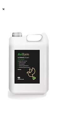 2x AVIFORM ULTIMATE 11in1.  2500ML.  New Formula Complete Supplement for Pigeons