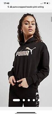 Womens Puma Cropped Jumper