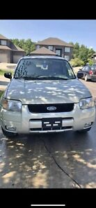 2004 Ford Escape 4x4 Limited