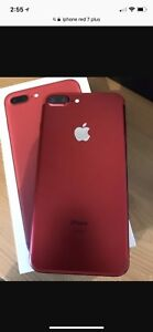 Mint iPhone 7 Plus red edition 128gb