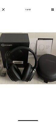 Cowin SE7 Active Noise Cancelling Headphones Bluetooth Black RRP £120