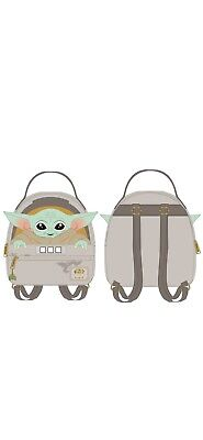 PREORDER Loungefly STAR WARS Mandalorian Baby Yoda The Child Cradle MiniBackpack for sale  Shipping to India