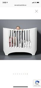 Leander Crib/Junior Bed - White - Mint Condition