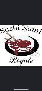 Sushi Nami Royale Is looking for full time & part time servers